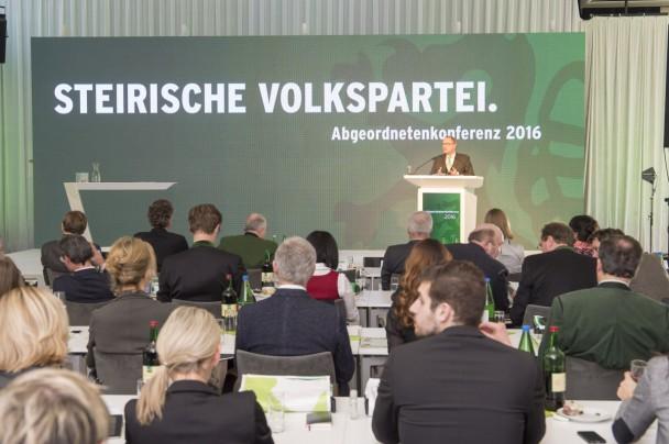 Bildergalerie Veranstaltungen ÖVP 2016 Abgeordnetenkonferenz 13