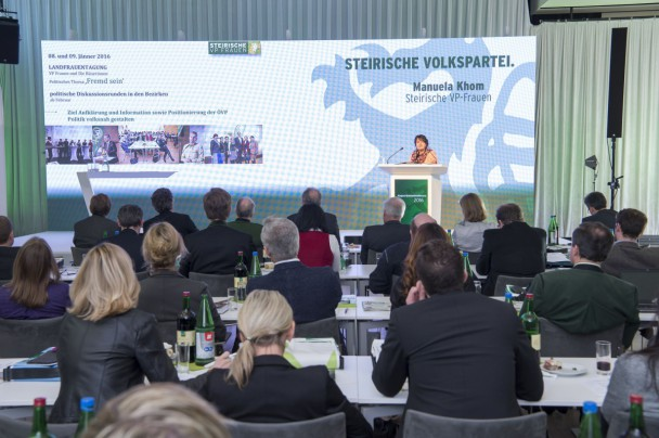 Bildergalerie Veranstaltungen ÖVP 2016 Abgeordnetenkonferenz 14